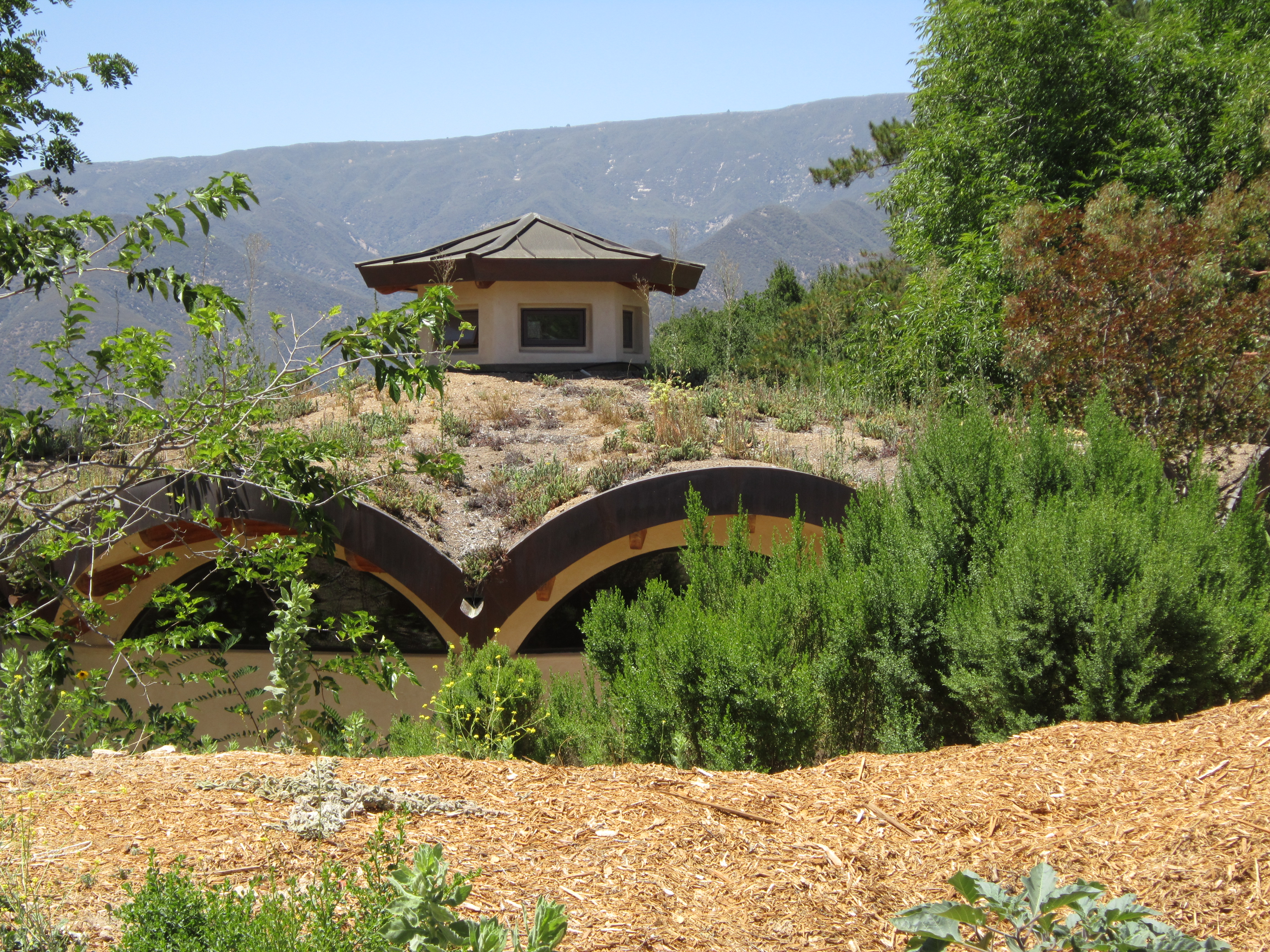 Natural Building Materials : The ojai foundation these light footsteps