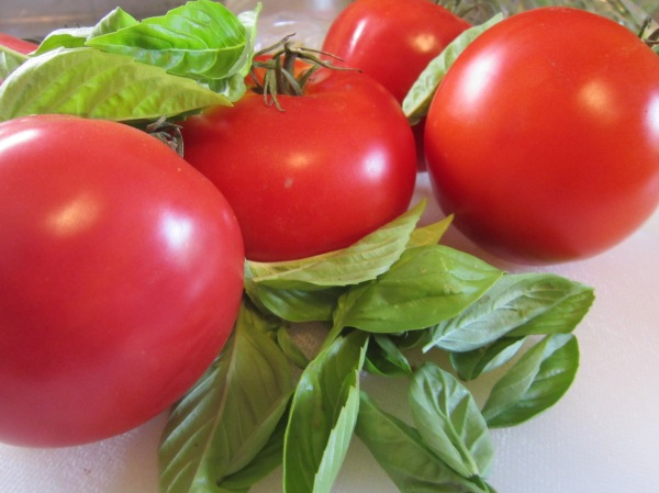 Tomatoes and basil make a terrific combination!