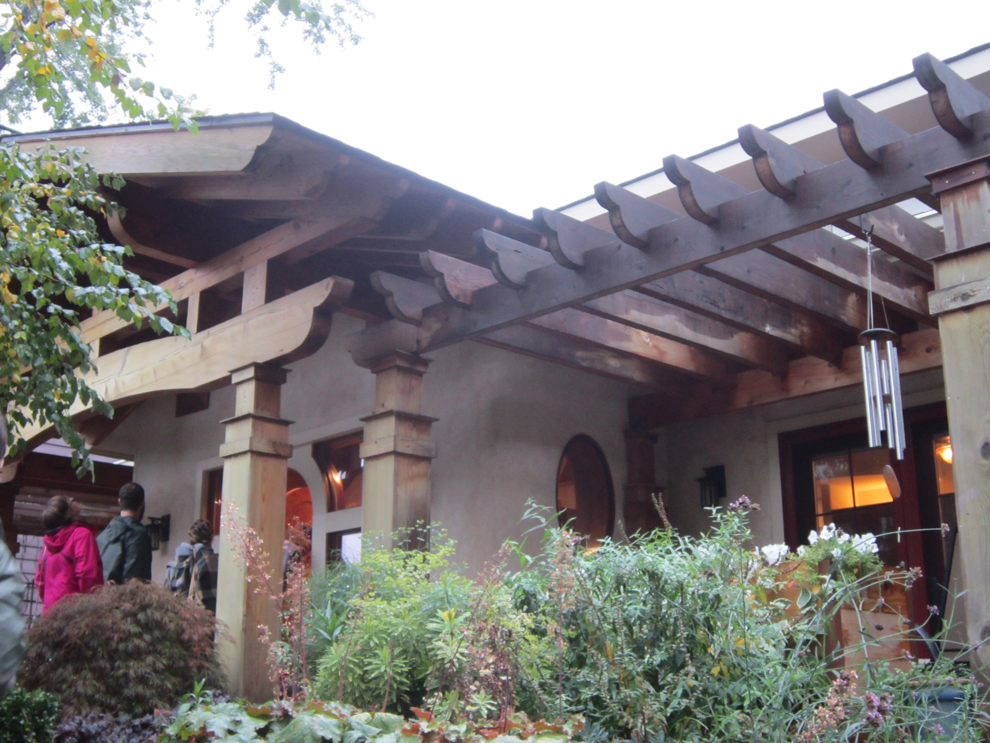 Straw bale house in the city these light footsteps - Straw bale house ...