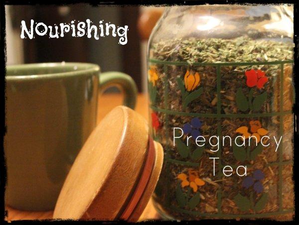 nourishing preg tea