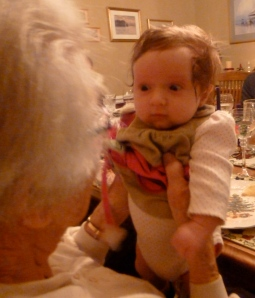 "A ""conversation"" with great-grandma on Christmas."