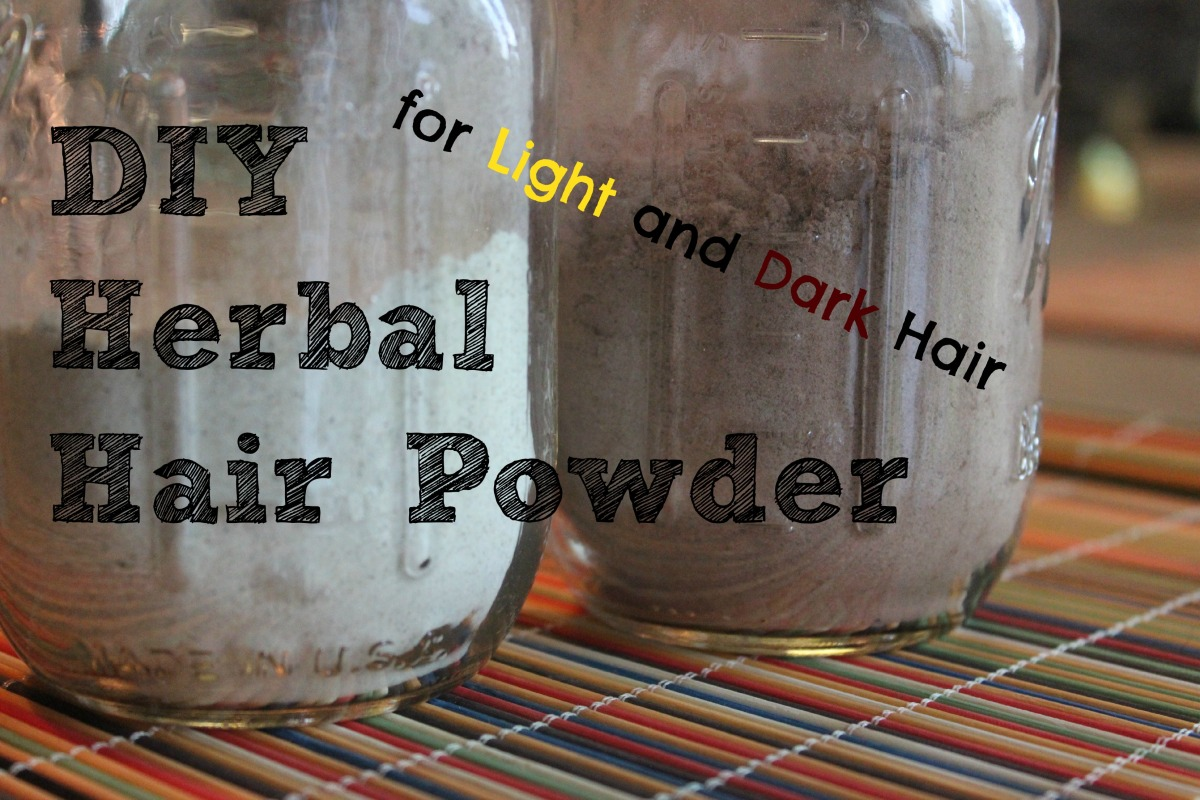 Herbal Hair Powder (Dry Shampoo)