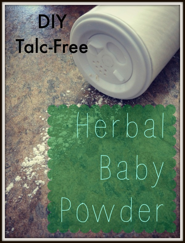 herbal baby powder